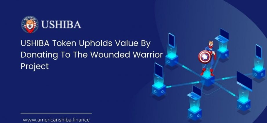 USHIBA Token Upholds Value By Donating To The Wounded Warrior Project